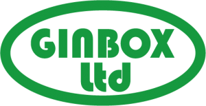 ginbox dark green logo